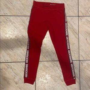 Abercrombie kids sweats they fit like leggings!!